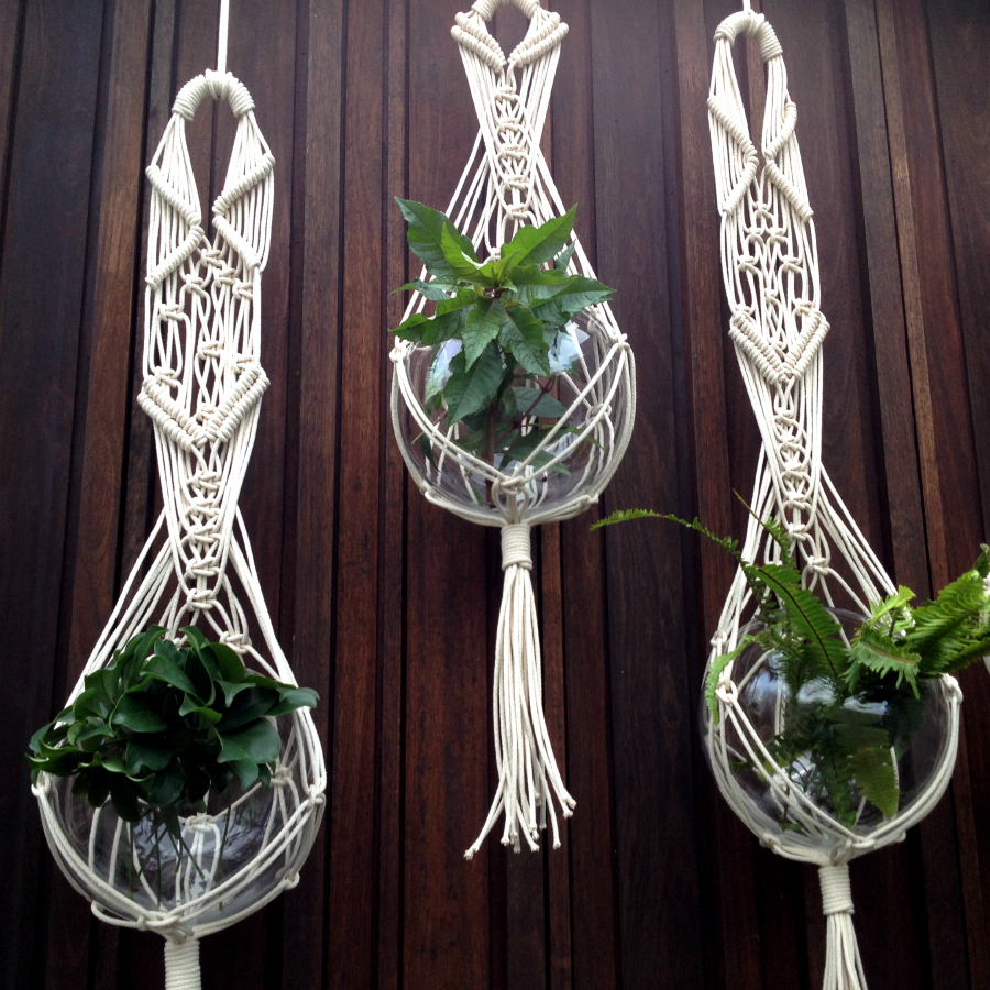 macrame knots plant hangers project gallery the knot studio 110